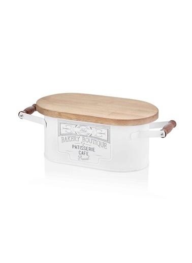 The Mia Ekmek Kutusu Küçük - Beyaz Beyaz